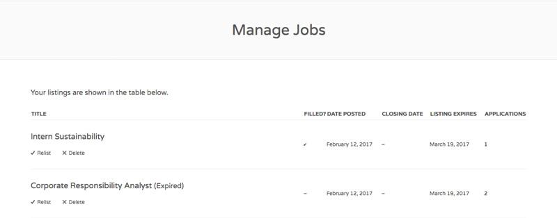 Manage Job